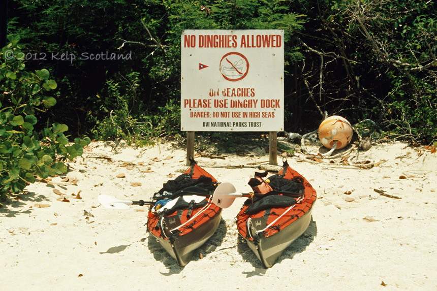 Reserved Parking, The Baths, Virgin Gorda