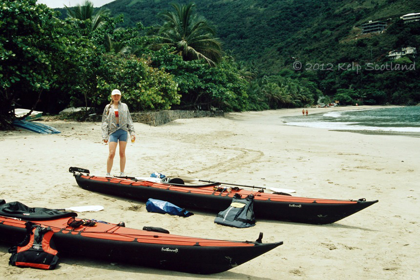 Packed and ready for adventure, Brewer's Bay, Tortola
