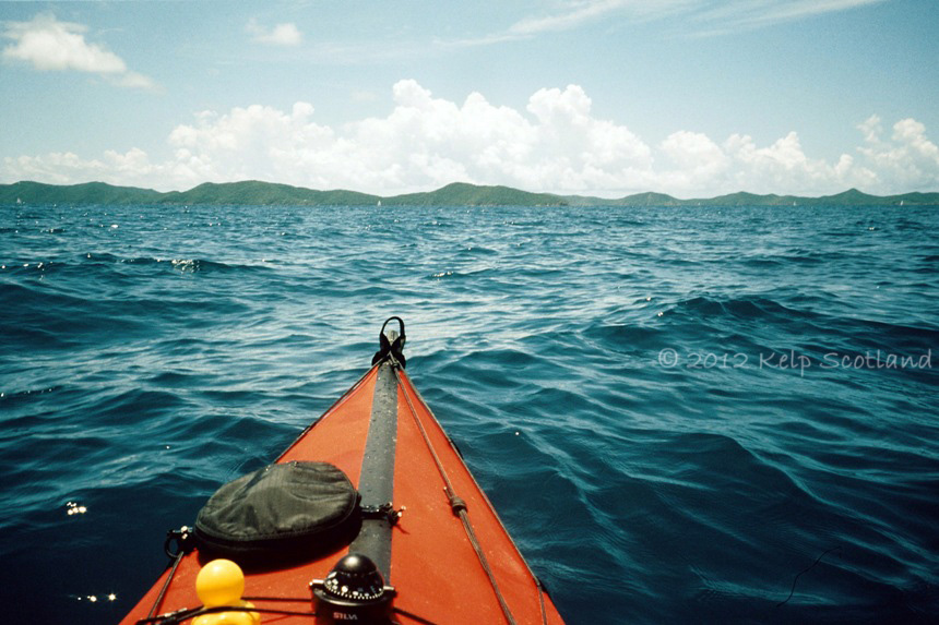 Crossing from Tortola to Peter Island