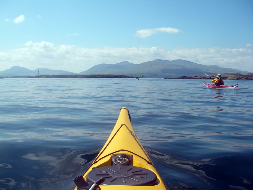 Rounding the southern tip of Lismore