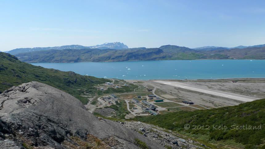 Narsarsuaq from Signal Hill