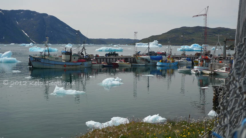 Commercial Harbour, Narsaq