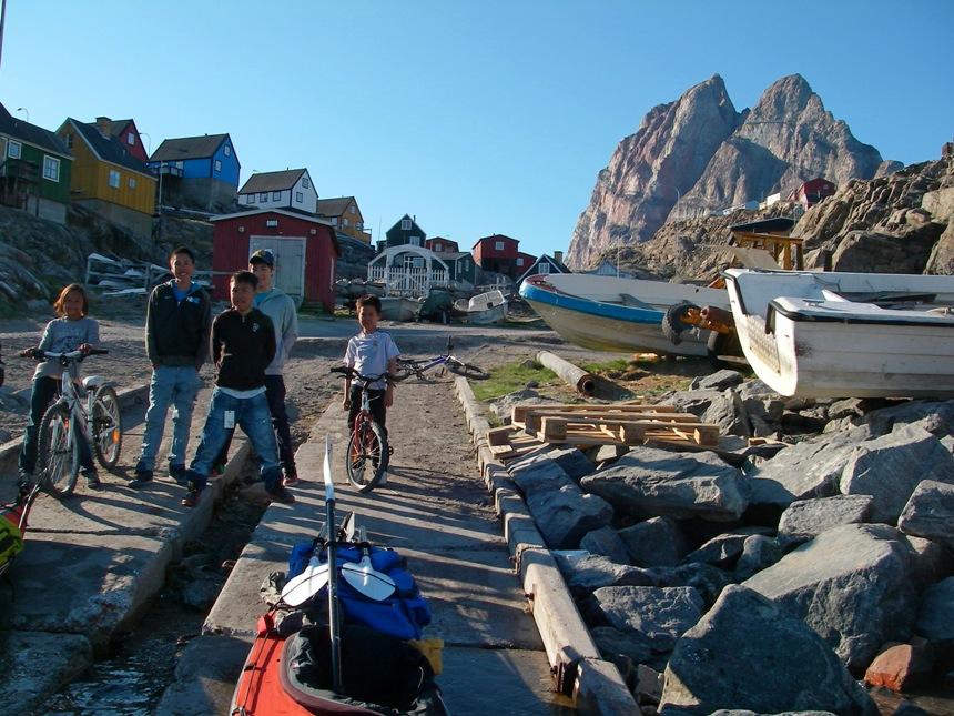Leaving Uummannaq