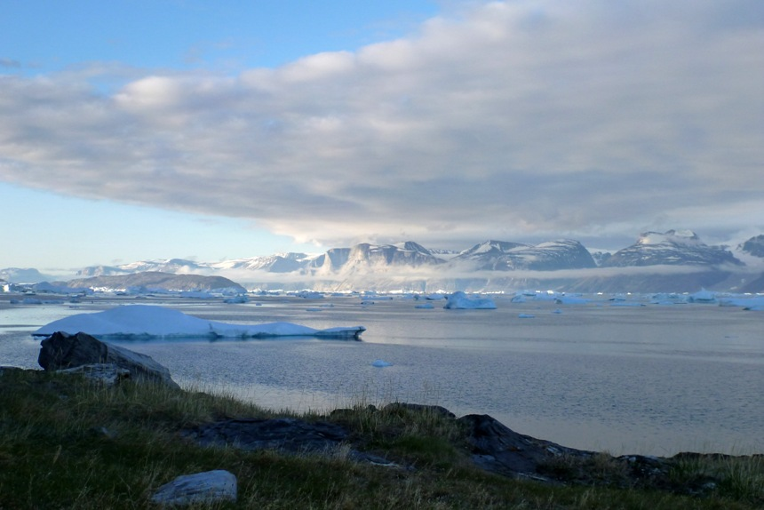 Midnight Sun, Uummannaq Fjord